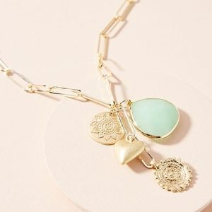Anthropologie Aisla Chain Necklace NWT